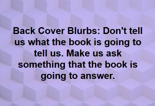 Blurb Technique