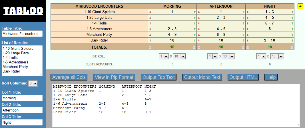 TABLOO – Table Design & Formatting Tool